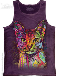 Image for The Mountain Tank Top - Abyssinian