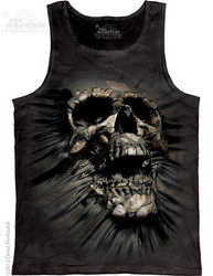 Image for The Mountain Tank Top - Breakthrough Skull