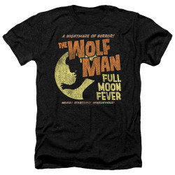 Image for The Wolfman Heather T-Shirt - Full Moon Fever