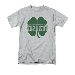 Image for Saint Patricks Day T-Shirt - Lucky to be Irish