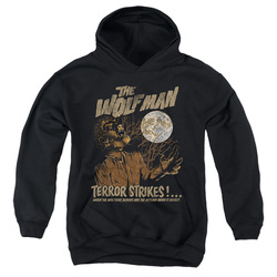 Image for The Wolfman Youth Hoodie - Terror Strikes