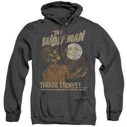 Image for The Wolfman Heather Hoodie - Terror Strikes