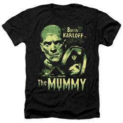 Image for The Mummy Heather T-Shirt - Boris Karloff