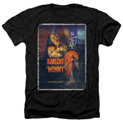 Image for The Mummy Heather T-Shirt - One Sheet