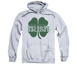 Image for Saint Patricks Day Hoodie - Lucky to be Irish