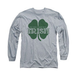 Image for Saint Patricks Day Long Sleeve T-Shirt - Lucky to be Irish