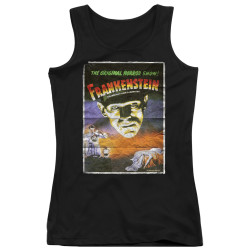 Image for Frankenstein Girls Tank Top - One Sheet