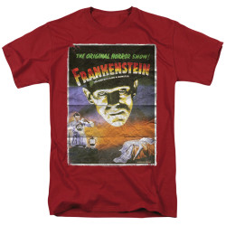 Image for Frankenstein T-Shirt - Classic One Sheet