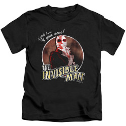 Image for The Invisible Man Catch Him if You Can Kid's T-Shirt