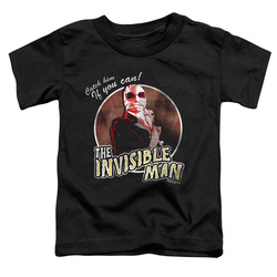 Image for The Invisible Man Catch Him if You Can Poster Toddler T-Shirt