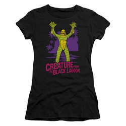 Image for The Creature From the Black Lagoon Girls T-Shirt - From Forbidden Depths