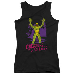Image for The Creature From the Black Lagoon Girls Tank Top - From Forbidden Depths