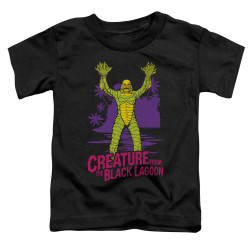 Image for The Creature From the Black Lagoon From Forbidden Depths Poster Toddler T-Shirt