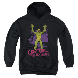 Image for The Creature From the Black Lagoon Youth Hoodie - From Forbidden Depths