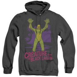 Image for The Creature From the Black Lagoon Heather Hoodie - From Forbidden Depths