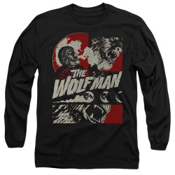 Image for The Wolfman Long Sleeve Shirt - When the Wolfbane Blooms