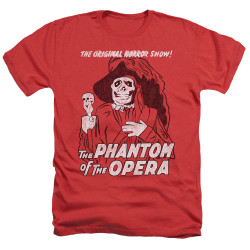 Image for Tha Phantom of the Opera Heather T-Shirt - The Original Horror Show