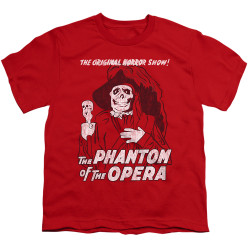 Image for Tha Phantom of the Opera Youth T-Shirt - The Original Horror Show
