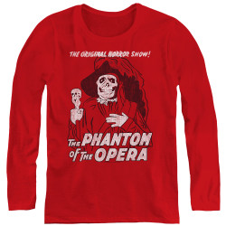 Image for Tha Phantom of the Opera Women's Long Sleeve T-Shirt - The Original Horror Show