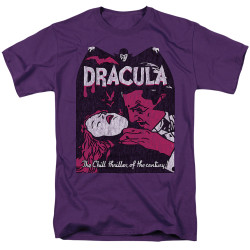 Image for Dracula T-Shirt - The Chill Thriller of the Century!