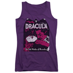 Image for Dracula Girls Tank Top - The Chill Thriller of the Century!