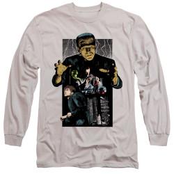 Image for Frankenstein Long Sleeve Shirt - Illustrated