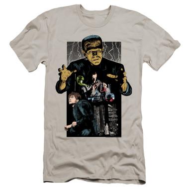 Image for Frankenstein Premium Canvas Premium Shirt - Illustrated