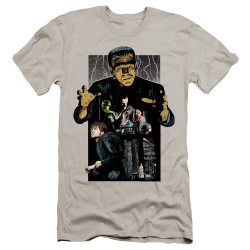 Image for Frankenstein Premium Canvas Premium Shirt - Illustrated
