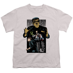 Image for Frankenstein Youth T-Shirt - Illustrated