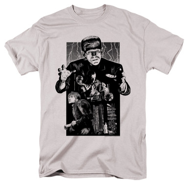 Image for Frankenstein T-Shirt - Monoton Illustrated