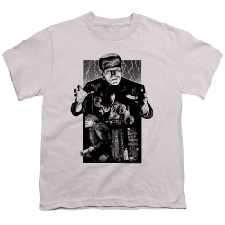 Image for Frankenstein Youth T-Shirt - Monoton Illustrated