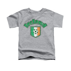 Image for Saint Patricks Day Toddler T-Shirt - Irish Football Flag