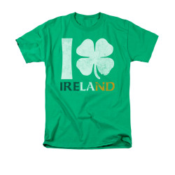 Image for Saint Patricks Day T-Shirt - I Love Ireland