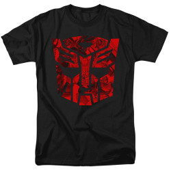 Image for Transformers T-Shirt - Tonal Autobot