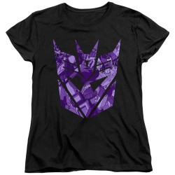 Image for Transformers Woman's T-Shirt - Tonal Decepticon