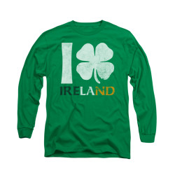 Image for Saint Patricks Day Long Sleeve T-Shirt - I Love Ireland
