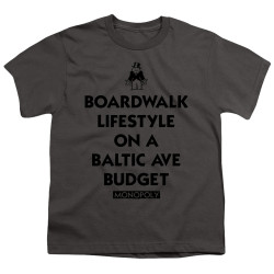Image for Monopoly Youth T-Shirt - Lifestyle vs Budget