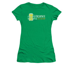 Image for Saint Patricks Day Girls T-Shirt - So Irish