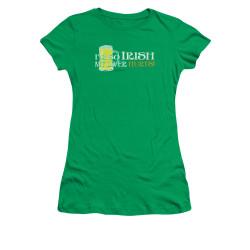 Image for Saint Patricks Day Girls T-Shirt - So Irish