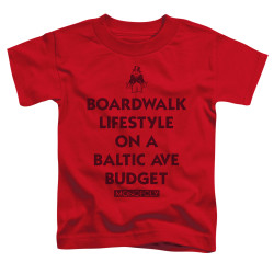 Image for Monopoly Toddler T-Shirt - Lifestyle versus Budget