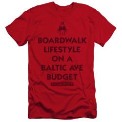 Image for Monopoly Premium Canvas Premium Shirt - Lifestyle versus Budget