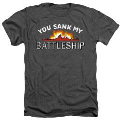 Image for Battleship Heather T-Shirt - Sunk