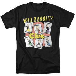 Image for Clue T-Shirt - Who Dunnit