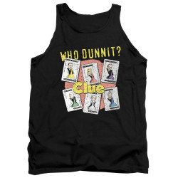 Image for Clue Tank Top - Who Dunnit