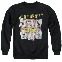Image for Clue Crewneck - Who Dunnit