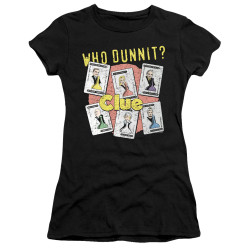 Image for Clue Juniors Premium Bella T-Shirt - Who Dunnit