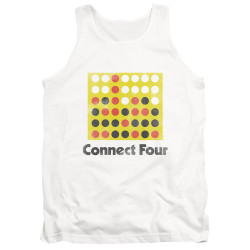 Image for Connect Four Tank Top - Classic Logo Distressed