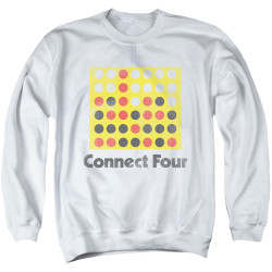 Image for Connect Four Crewneck - Classic Logo Distressed