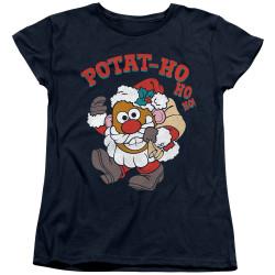 Image for Mr. Potato Head Woman's T-Shirt - Ho Ho Ho
