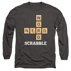 Image for Scrabble Long Sleeve T-Shirt - Word Nerd